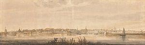 Panoramablick auf Dordrecht und den Fluss Maas, Aelbert Cuyp