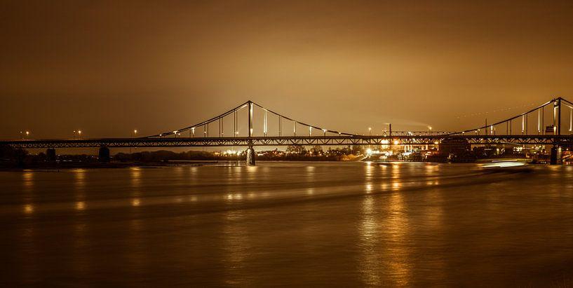 Uerdinger Rheinbrücke van Nicolas Lebeau