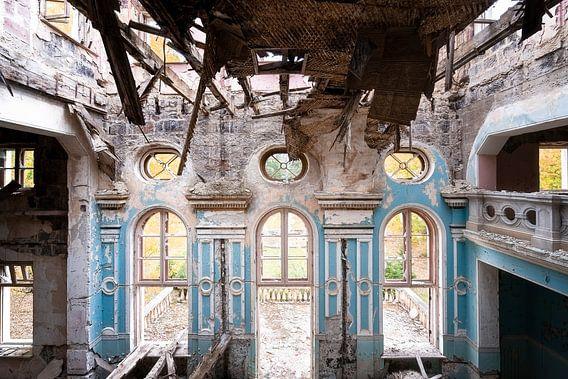 Théâtre abandonné dans Decay.