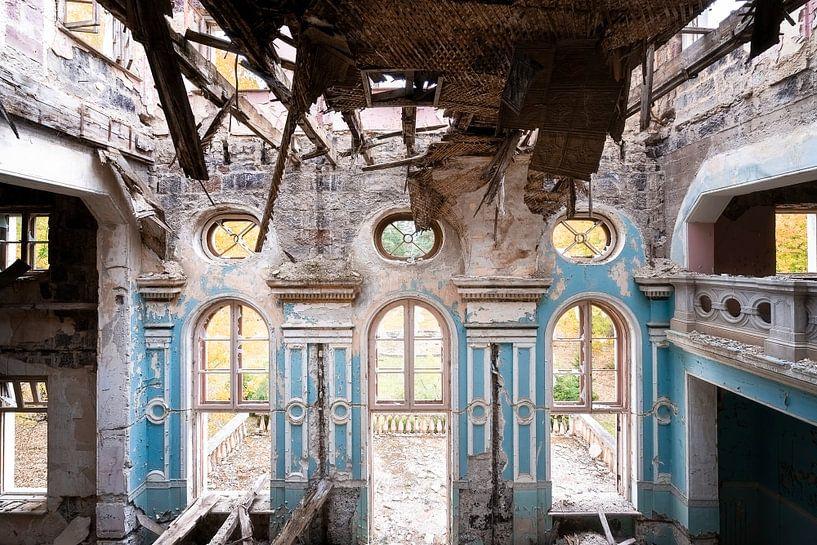 Théâtre abandonné dans Decay. sur Roman Robroek