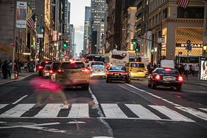 Dancing in the New York streets van