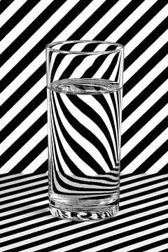 Water & Stripes van Iwan Heeffer