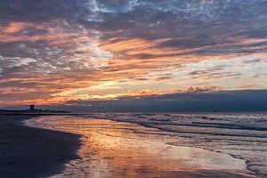 sunset at Nieuwpoort van
