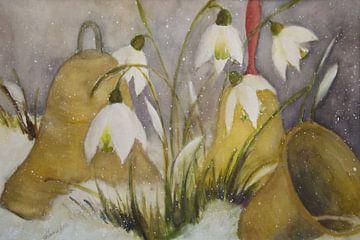 Schneeglocken von Christine Nöhmeier