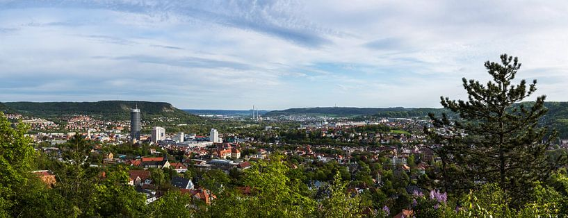 Panorama de Jena sur Frank Herrmann