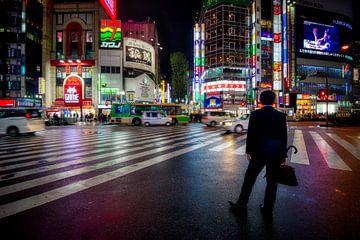 Tokyo city lights van Myrna's Photography