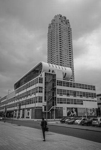 Rotterdam Street Photo black and White van
