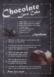 Recipe of Dessert - Lava cake