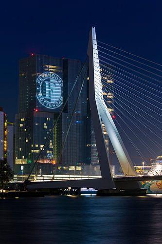 Feyenoord projiziert auf der Rotterdam