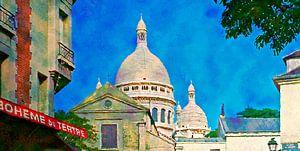Montmartre und Sacre coeur