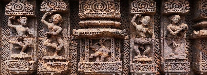 Vier antike Tänzer und Ganesha von Affect Fotografie