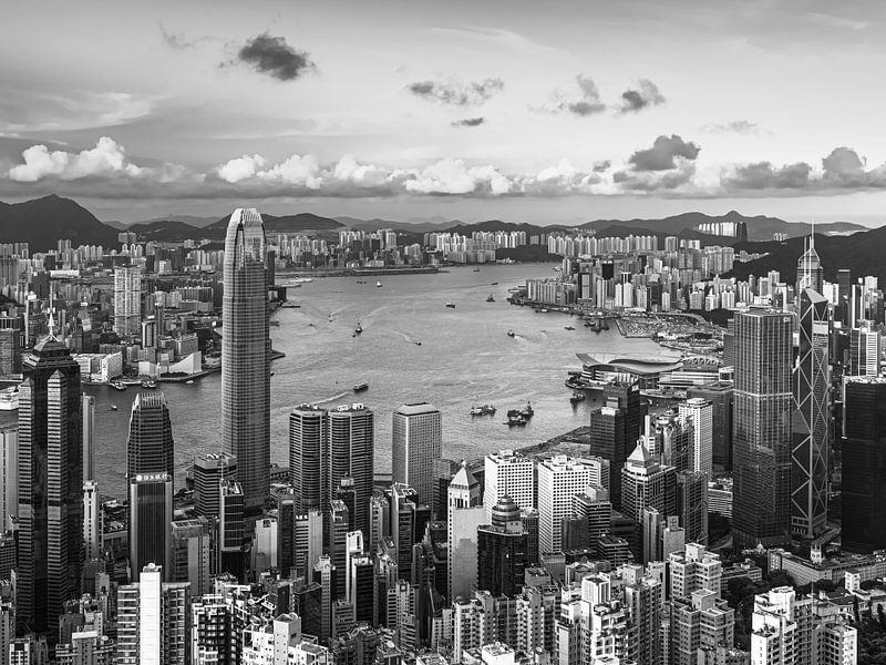 HONG KONG 39 - Port de Victoria sur Tom Uhlenberg