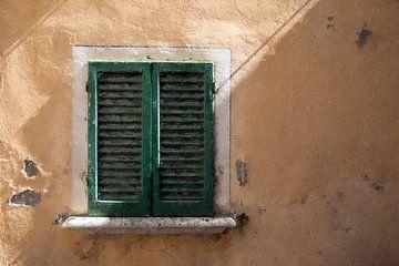 Het raam van een Italiaanse huis van Digitale Schilderijen