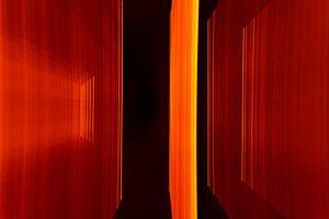 Orange Rahmen 4 von Christel Bekkers