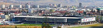 Tivoli Stadion in Innsbruck van Leopold Brix