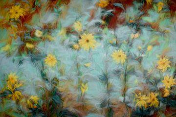 Schilderachtige bloemen van Francis Dost