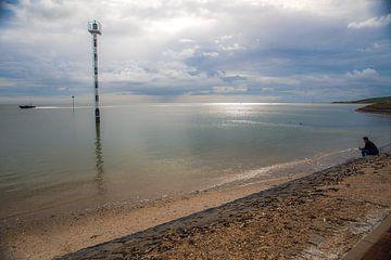 Über das Wattenmeer wachen von Vlielandplaatjes