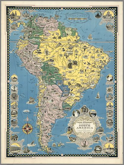 The Good Neighbor, Zuid Amerika van World Maps