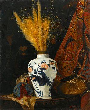 Blumen in einer weißen Vase, Osman Hamdi Bey
