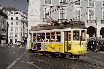 """Lissabon: Tram 25 """"Carreira"""""""