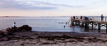 Strand von Århus, Dänemark von Jeroen van Esseveldt