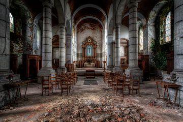 kerk in verval von Steve Mestdagh