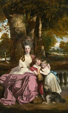Lady Elizabeth Delmé and Her Children, Joshua Reynolds sur