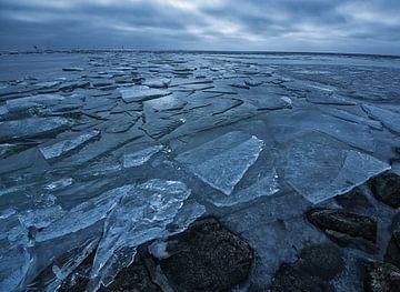 Kruiend ijs 1 van peterheinspictures