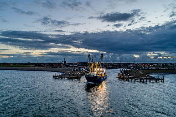 TX1 verlaat Oudeschild Texel van Texel360Fotografie Richard Heerschap
