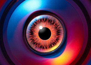 Buitenaards oog van Achim Prill