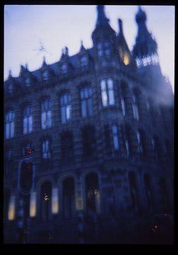 mysterieus klassiek gebouw in amsterdam van Karel Ham