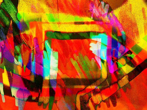 Modern, Abstract kunstwerk - A Dream That I've Been Dreaming van Art By Dominic