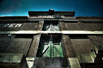 Oud pakhuis in Rotterdam van Thomas Poots