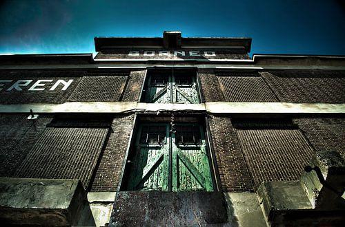 Ancien entrepôt à Rotterdam sur Thomas Poots