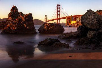 Golden Gate Bridge van Steve Mestdagh