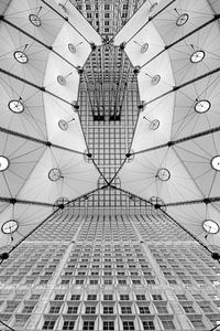 Black and White Abstract Architecture