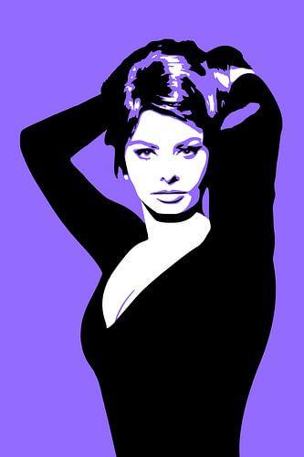 Sophia Loren van Harry Hadders