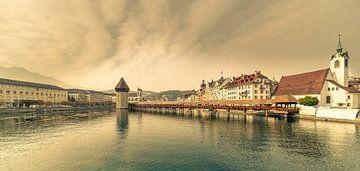 Kapelbrug Luzern van Tony Buijse