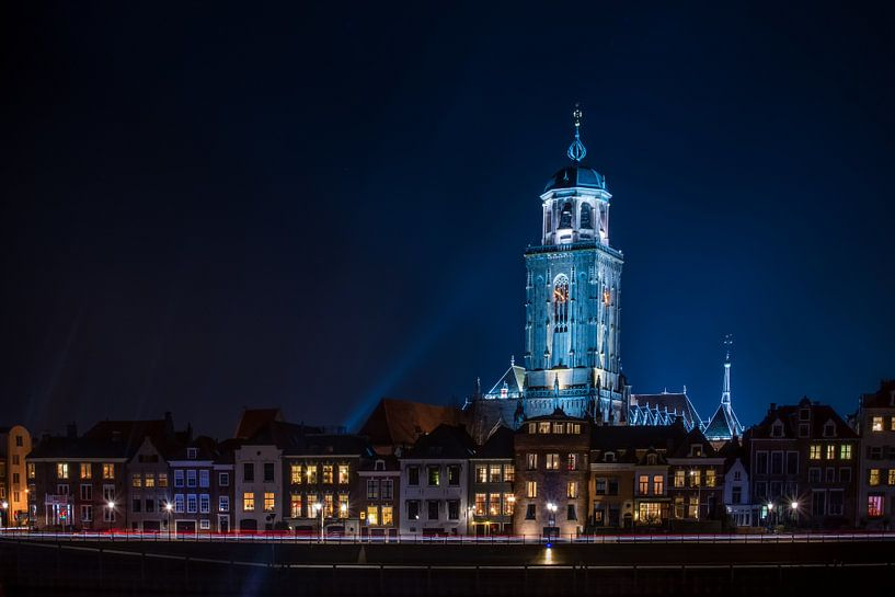 Deventer by night van Robert Stienstra