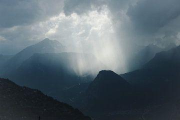 Wolkenstrahlen von Natalie van der Hoeven