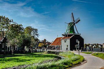 Hollandse Molens Zaanse Schans von Xandra Ribbers