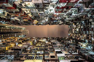 Jungle urbaine de Hong Kong sur Marcel Samson