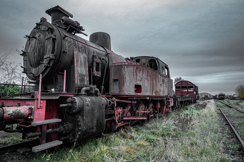 Zug am Endziel von Robbert Wille