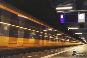 Intercity in Station Rotterdam-Blaak van Kevin Slotboom