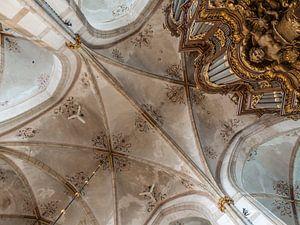 Plafondgewelf Grote Kerk Zwolle van Gerrit Veldman