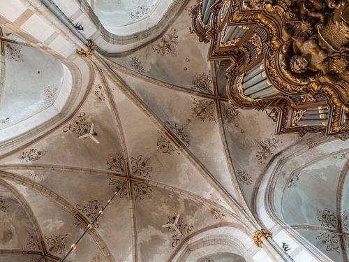 Deckengewölbe Grote Kerk Zwolle von Gerrit Veldman