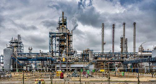 Industrie in de Botlek. van Don Fonzarelli