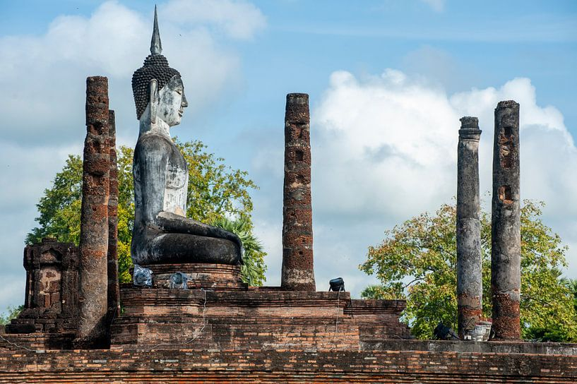 Buddha in Sukhothai van Sebastiaan Hamming