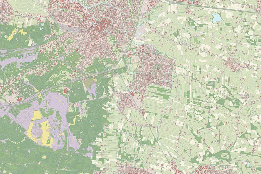 Kaart vanLeusden