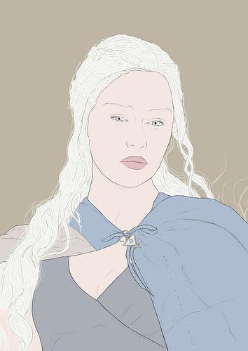 khaleesi game of thrones van